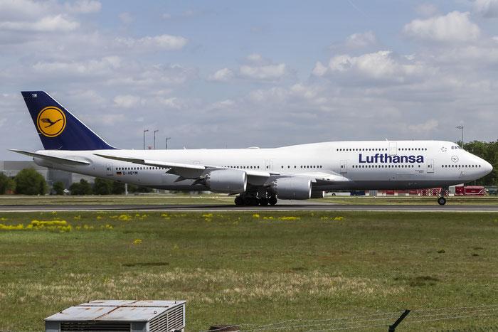 D-ABYM B747-830 37837/1494 Lufthansa @ Frankfurt Airport  08.05.2015 © Piti Spotter Club Verona