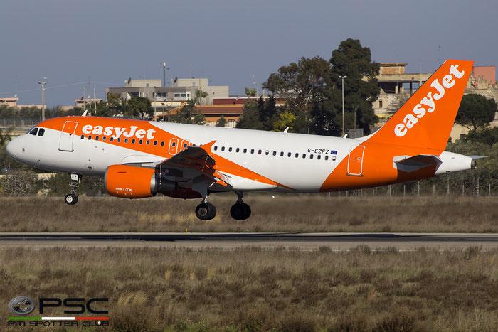 G-EZFZ A319-111 4425 EasyJet Airline @ Bari Airport 20.02.2016  © Piti Spotter Club Verona