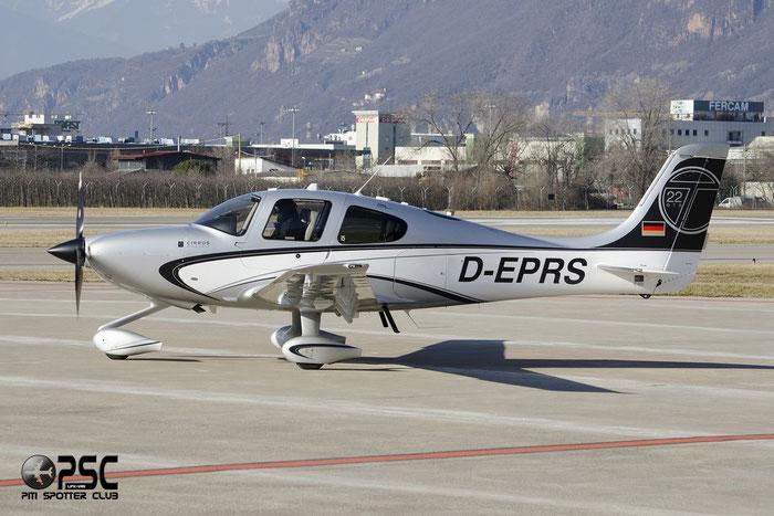 D-EPRS photos Aircraft: Cirrus SR22T-GTS  @ Aeroporto di Trento © Piti Spotter Club Verona