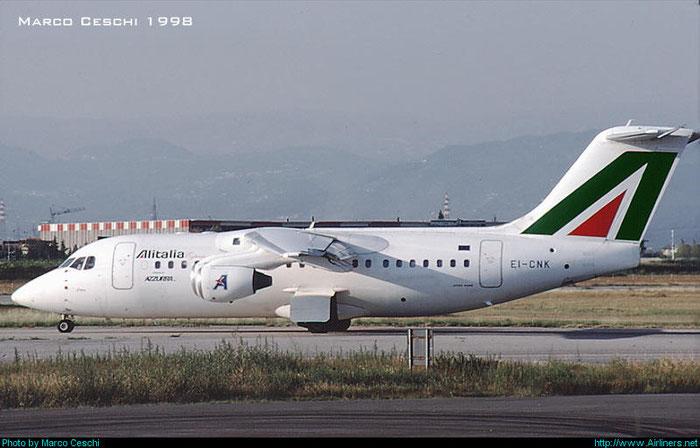 EI-CNK  BAe146-RJ85  E2306  Azzurra Air  @ Aeroporto di Verona © Piti Spotter Club Verona