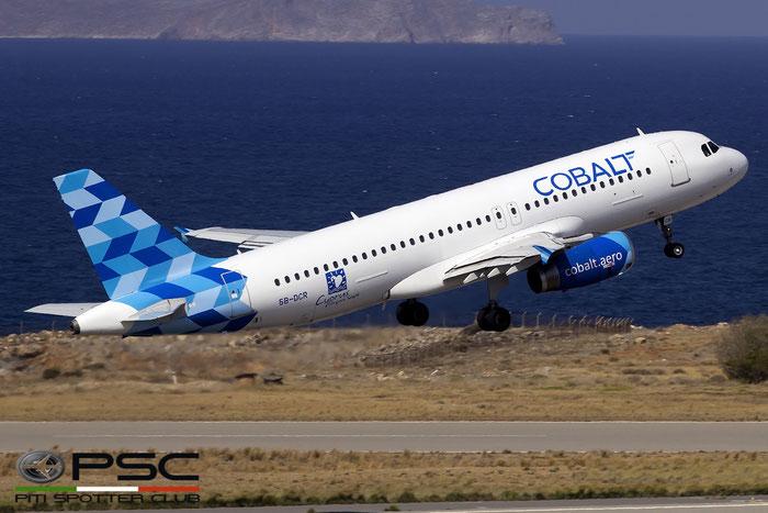5B-DCR A320-232 928 Cobalt @ Heraklion Airport 09.2016 © Piti Spotter Club Verona