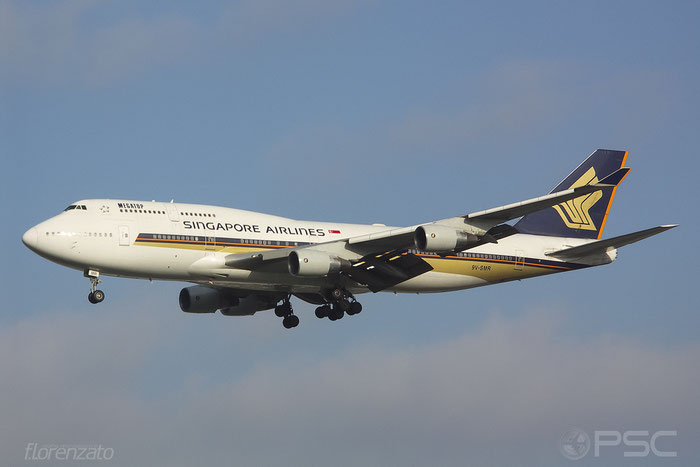 9V-SMR B747-412 27133/962 Singapore Airlines @ Frankfurt Airport 2005 © Piti Spotter Club Verona