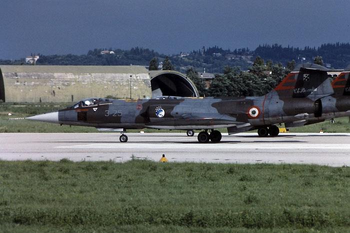 Gli F-104 del Terzo Stormo: 3-25 -  @ Aeroporto di Verona   © Piti Spotter Club Verona