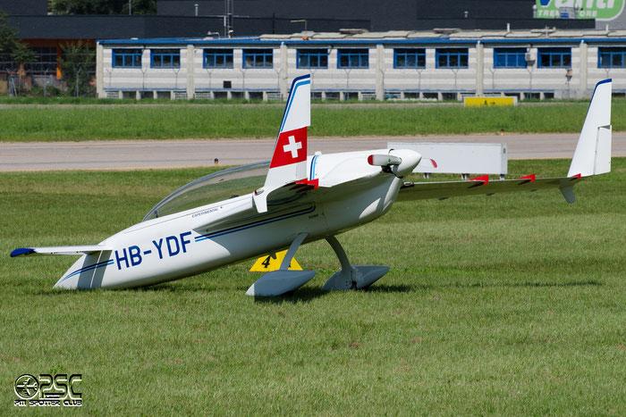 HB-YDF RUTAN VariEze VEZE @ Aeroporto di Bolzano © Piti Spotter Club Verona