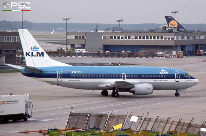 PH-BDI B737-306 23544/1335 KLM Royal Dutch Airlines © 2017 courtesy of Marco Ceschi - Piti Spotter Club Verona