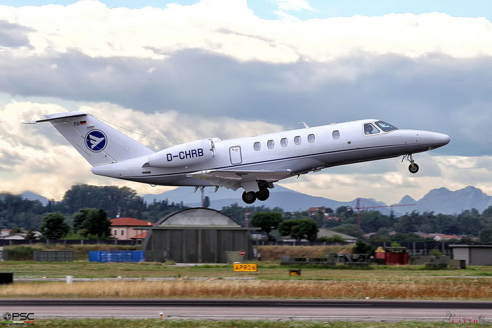 D-CHRB Ce525C (CJ4) 525C-0144 Hahn Air @ Aeroporto di Verona 26.07.2017  © Piti Spotter Club Verona