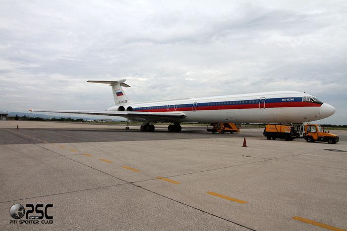 Russia - Air Force - Ilyushin Il-62M - RA-86539 @ Aeroporto di Verona © Piti Spotter Club Verona