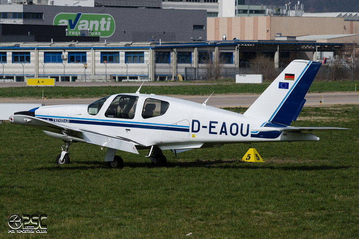 D-EAOU SOCATA TB-20 Trinidad TRIN 999 @ Aeroporto di Bolzano © Piti Spotter Club Verona