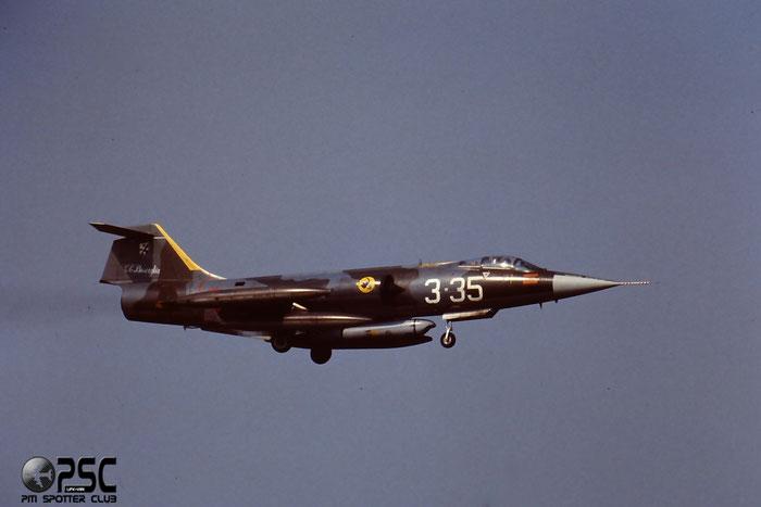 Gli F-104 del Terzo Stormo: 3-35 -  @ Aeroporto di Verona   © Piti Spotter Club Verona