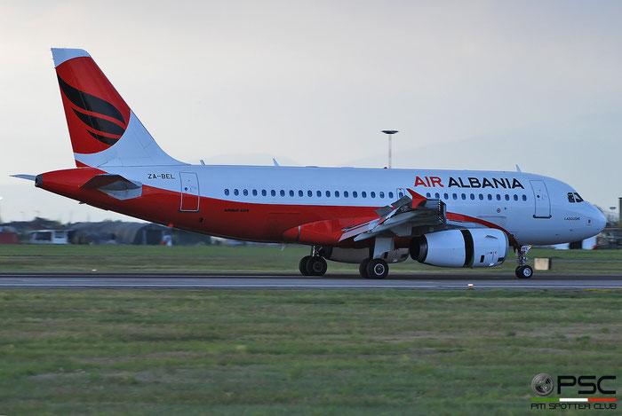 ZA-BEL  A319-132  3142  Air Albania  @ Aeroporto di Verona 2021 © Piti Spotter Club Verona