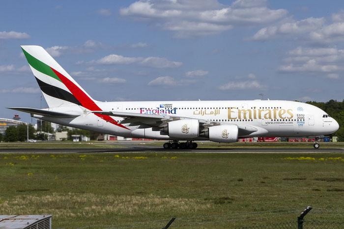 A6-EDJ A380-861 9 Emirates @ Frankfurt Airport 08.05.2015 © Piti Spotter Club Verona