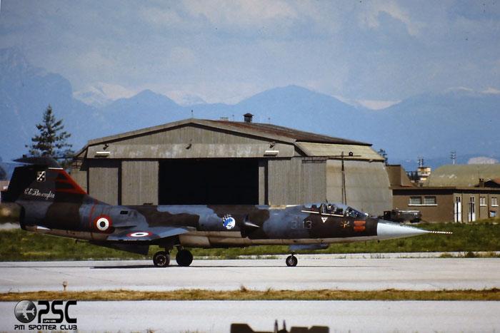 Gli F-104 del Terzo Stormo: 3-13 -  @ Aeroporto di Verona   © Piti Spotter Club Verona