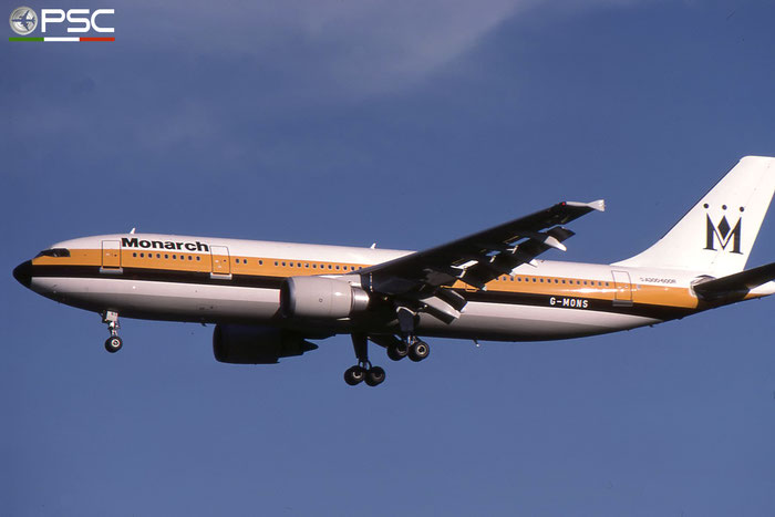 G-MONS  A300B4-605R  556  Monarch Airlines  @ Aeroporto di Verona © Piti Spotter Club Verona