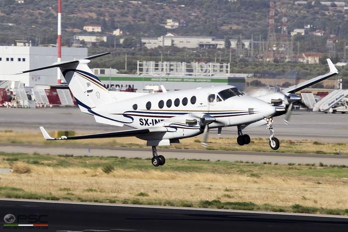 SX-INT Beechcraft 200 Super King Air @ Athens 2019 © Piti Spotter Club Verona