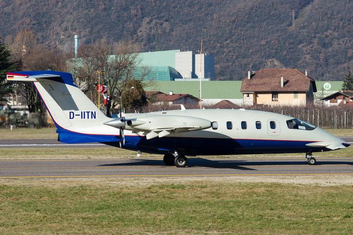 D-IITN P180 1188 Winair @ Aeroporto di Bolzano © Piti Spotter Club Verona