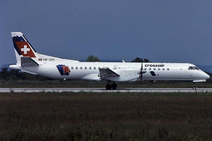 HB-IZH Saab 2000 2000-011 Crossair @ Aeroporto di Verona - © Piti Spotter Club Verona