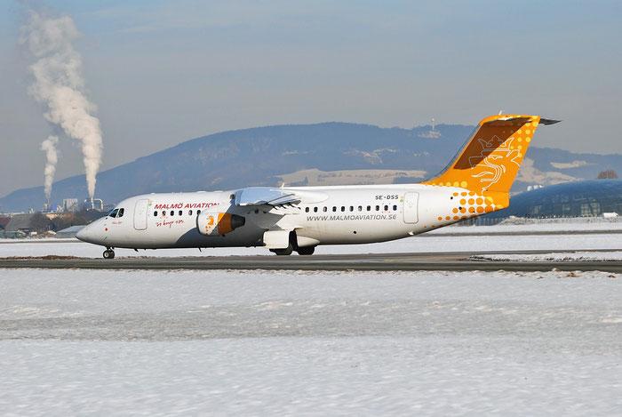 SE-DSS BAe146-RJ100 E3245 Malmö Aviation @ Salzburg Airport 2011 © Piti Spotter Club Verona