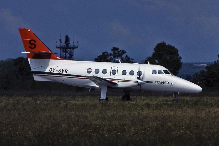 OY-SVR BAe3103 701 Sun-Air of Scandinavia @ Aeroporto di Verona © Piti Spotter Club Verona