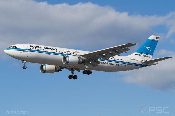 9K-AMC A300B4-605R 699 Kuwait Airways @ London Heathrow Airport 07.02.2014 © Piti Spotter Club Verona