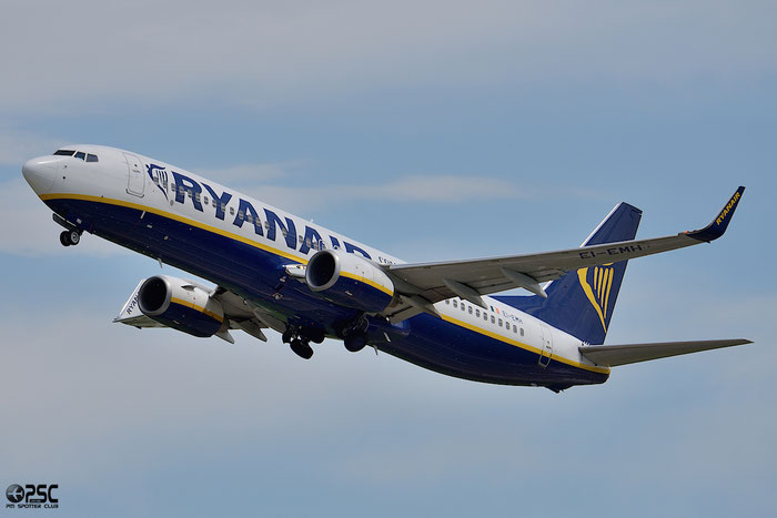 EI-EMH B737-8AS 34974/3262 Ryanair @ Bologna Airport 04.04.2014 © Piti Spotter Club Verona