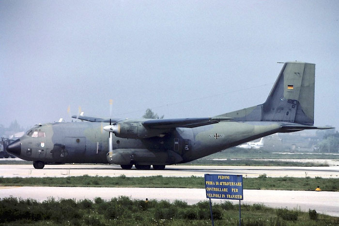 50+50   C-160D  D72 @ Aeroporto di Verona   © Piti Spotter Club Verona