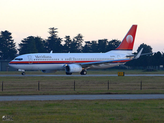 EI-FFK  B737-81Q  29051/479  Meridiana  @ Aeroporto di Verona © Piti Spotter Club Verona