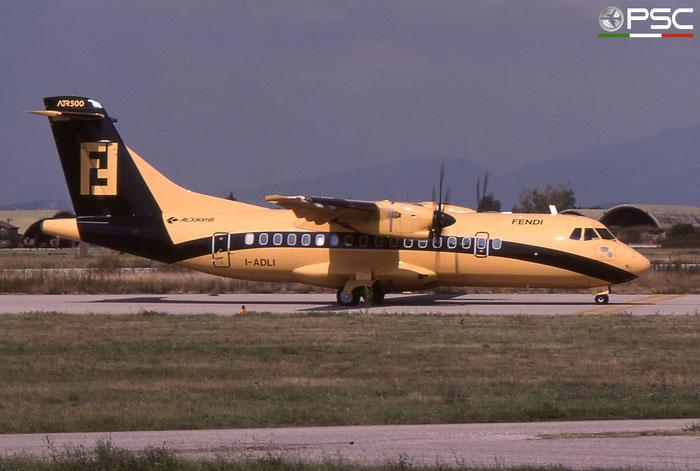 I-ADLI ATR42-500 515 Air Dolomiti © 2018 courtesy of Marco Ceschi - Piti Spotter Club Verona