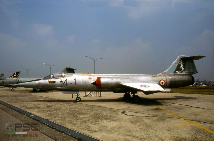 MM6505  4-1  F-104G  6505 © Piti Spotter Club Verona