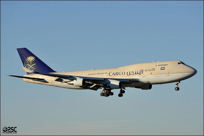 TF-AMI B747-412BDSF 27066/940 Air Atlanta Icelandic lease Saudi - @ Milano Malpensa Airport 25.01.2014 © Piti Spotter Club Verona