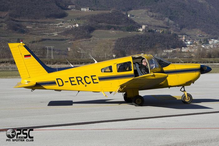 D-ERCE Piper PA-28-181 Archer 3 P28A @ Aeroporto di Trento © Piti Spotter Club Verona