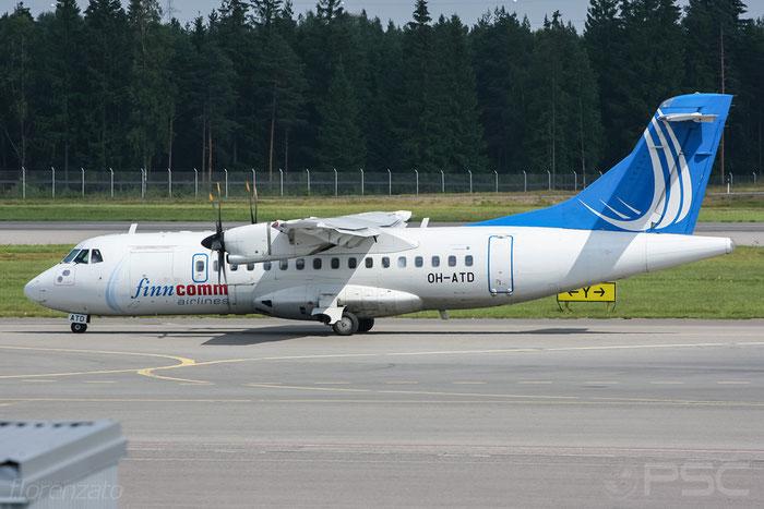 OH-ATD ATR42-500 655 FinnComm Airlines @ Helsinki Airport 2008 © Piti Spotter Club Verona