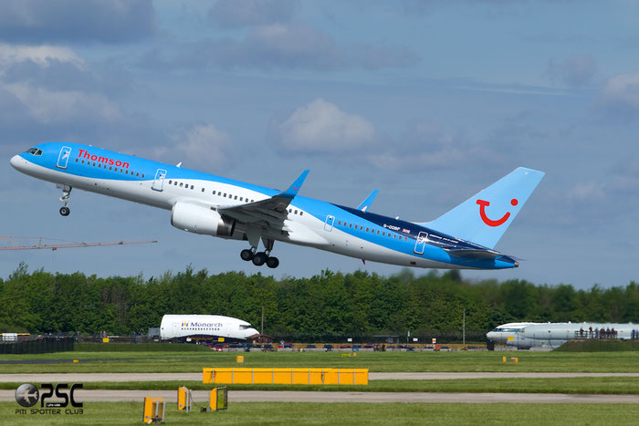 G-OOBF B757-28A 33101/1041 Thomson Airways @ Manchester Airport 13.05.2014 © Piti Spotter Club Verona