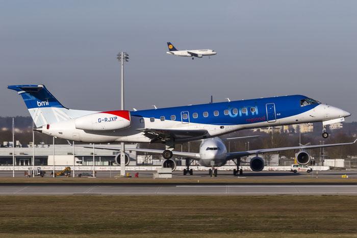 G-RJXP ERJ135ER 145431 BMI Regional @ Munich Airport 28.12.2015 © Piti Spotter Club Verona