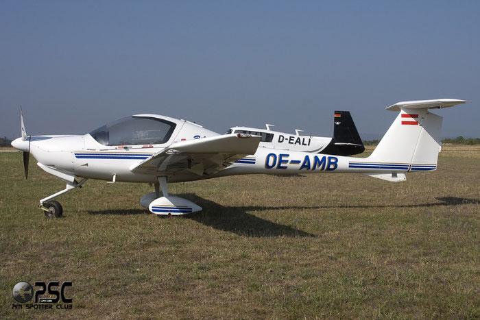 OE-AMB Diamond Aircraft Industries DA-20-A1 Katana DV20 10235 @ Aeroporto Verona Boscomantico © Piti Spotter Club Verona