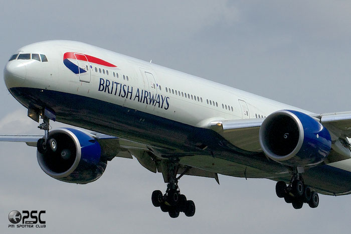 G-STBC B777-36NER 38287/901 British Airways @ London Heathrow Airport 12.06.2014  © Piti Spotter Club Verona