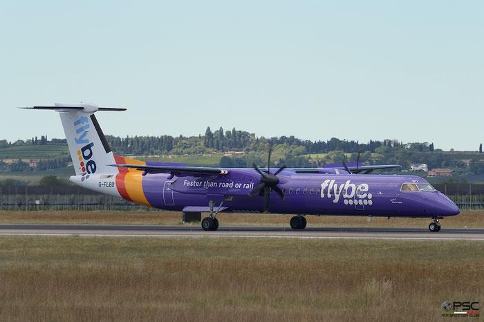 G-FLBD DHC-8-402 4259 Flybe - British European @ @ Aeroporto di Verona 12.08.2017  © Piti Spotter Club Verona