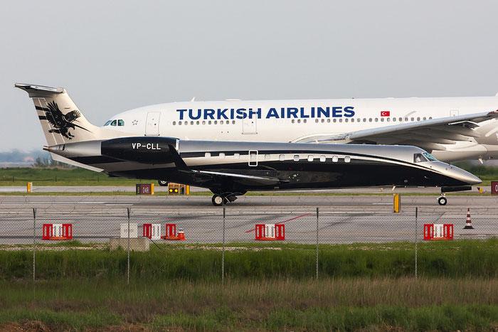 VP-CLL ERJ135BJ 14501052 Titan Aviation @ Venezia Airport 28.04.2013 © Piti Spotter Club Verona