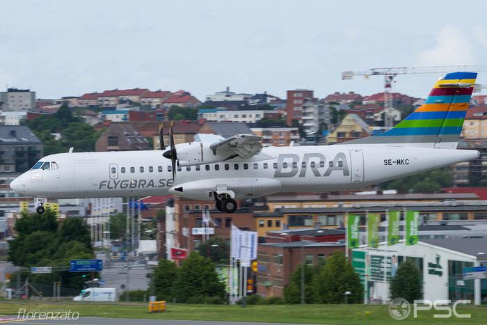 SE-MKC ATR72-212A 1313 BRA - Braathens Regional Airlines @ Stockholm Bromma Airport 19.08.2016 © Piti Spotter Club Verona