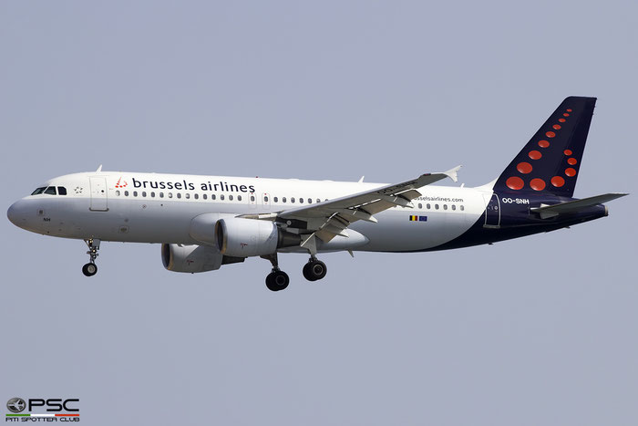 OO-SNH A320-214 2207 Brussels Airlines @ Heraklion Airport 10.09.2017 © Piti Spotter Club Verona