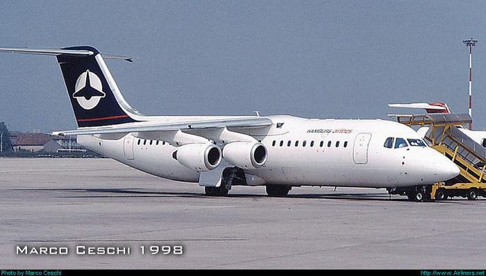 D-AZUR  BAe146-200A  E2060  Hamburg Airlines   @ Aeroporto di Verona © Piti Spotter Club Verona