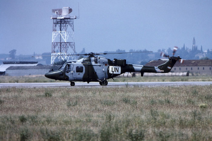ZG887   Lynx AH9A  349 RAF (ONU) @ Aeroporto di Verona   © Piti Spotter Club Verona