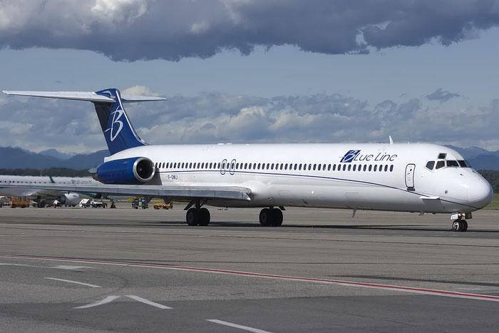 F-GMLI MD-83 53014/1740 Blue Line @ Milano Malpensa Airport 07.2009 © Piti Spotter Club Verona