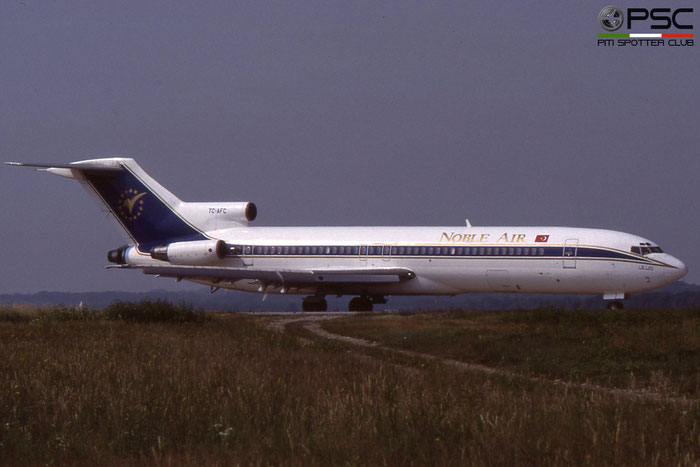 TC-AFC B727-228 19863/691 Noble Air © 2018 courtesy of Marco Ceschi - Piti Spotter Club Verona