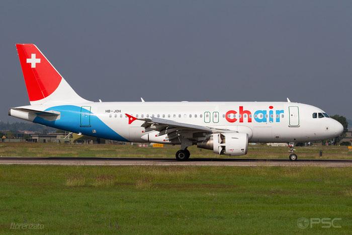 HB-JOH A319-112 3589 Chair Airlines  @ Aeroporto di Verona 10.2019  © Piti Spotter Club Verona