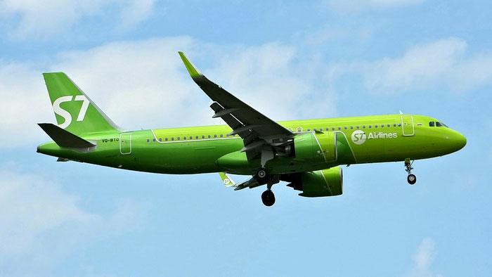 VQ-BTO  A320-271N  9140  S7 Airlines  29 Aug 2019 @ Aeroporto di Verona 08.2020  © Piti Spotter Club Verona