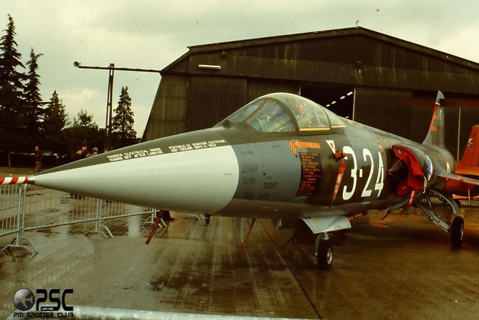 Gli F-104 del Terzo Stormo: 3-24 -  @ Aeroporto di Verona   © Piti Spotter Club Verona