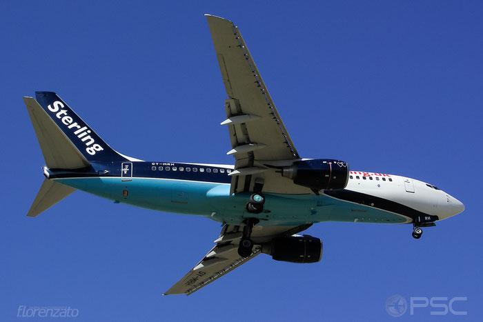OY-MRH B737-7L9 28013/682 Sterling European Airlines @ Malaga Airport 2006 © Piti Spotter Club Verona