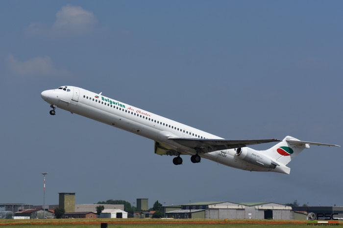 LZ-LDU MD-82 53204/2009 Bulgarian Air Charter @ Aeroporto di Verona 06.2019  © Piti Spotter Club Verona