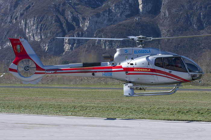 I-KEOM - Eurocopter EC130 B4 - Eliossola @ Aeroporto di Trento © Piti Spotter Club Verona