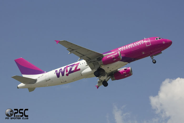 HA-LPF A320-233 1834 Wizz Air @ Bergamo Airport 02.06.2013 © Piti Spotter Club Verona